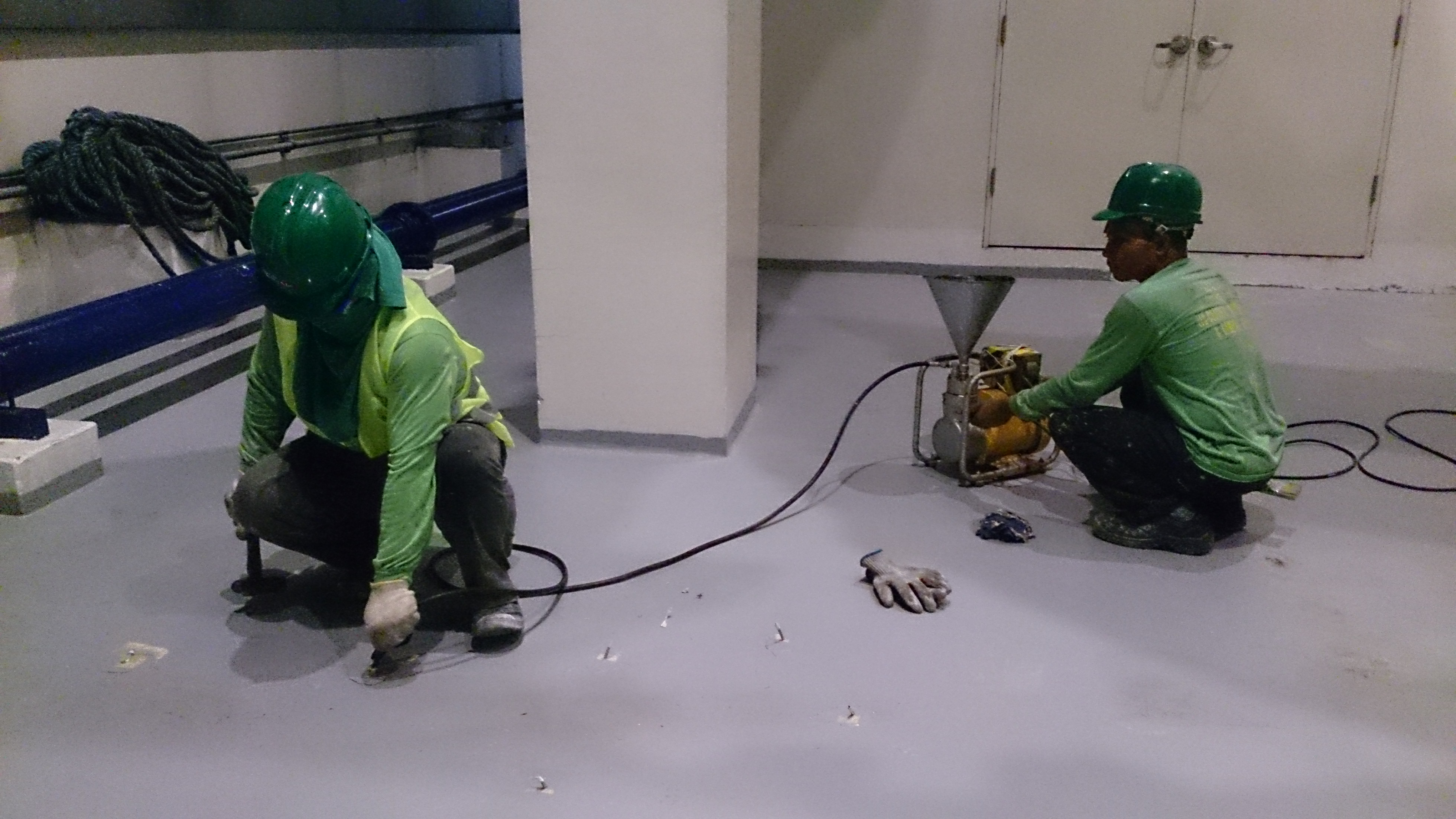 Structural Epoxy Injection